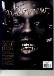 Interview magazine: April 2014